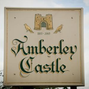 Amberley Castle sign image - Copyright Andrea Sarlo
