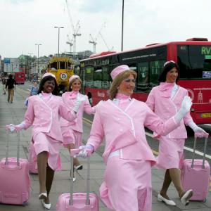 Comedy Cabin Crew street theatre act