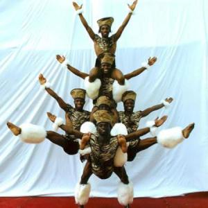 African Acrobatic Show