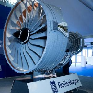 Rolls Royce Aero Engine in Lego
