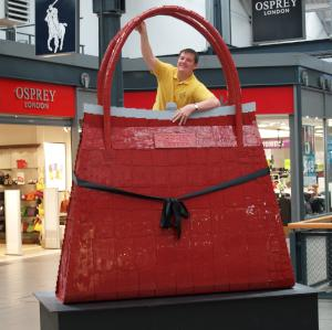Giant Osprey Handbag for a sales promotion