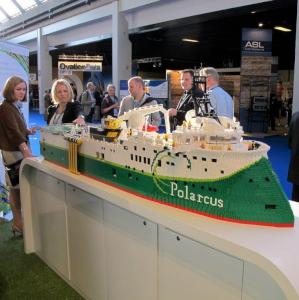 Polarcus Seismic Vessel in Lego