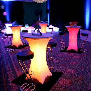 Lighting and illuminated furniture- click here for more.