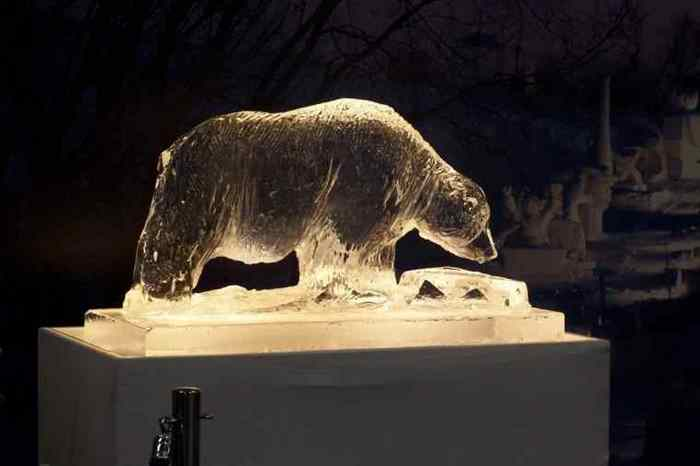 Ice Sculpture- Polar Bear