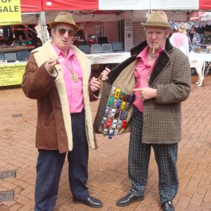 The Dody Dealers street theatre act