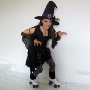 Roller Skating Witch