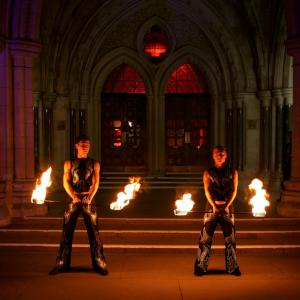 Spectacular Fire Show- click for demo video