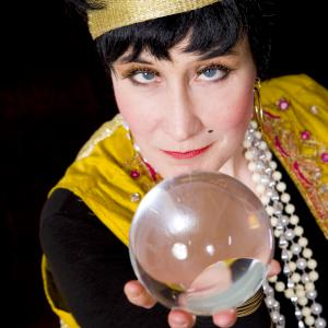 comedy fortune teller street theatre act