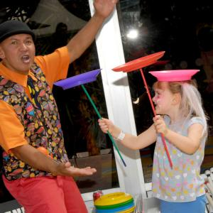 Circus workshops and children's circus acts