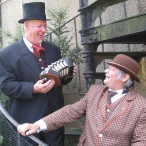 Victorian Musical Duo street theatre act.
