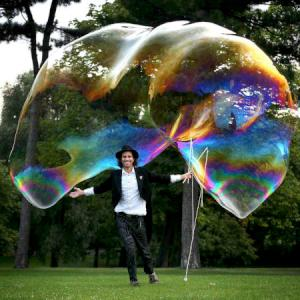 Bubble Magic for street festivals, town centres and shopping centres