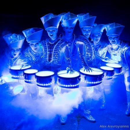 LED drum group
